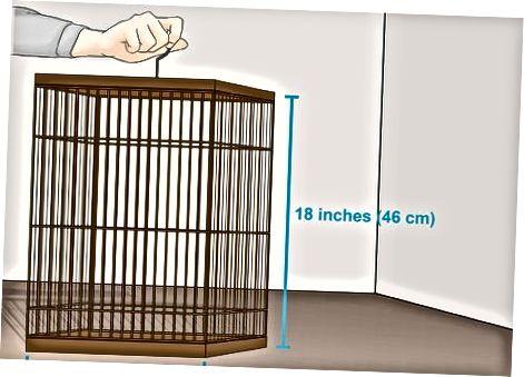 Käfig aufstellen