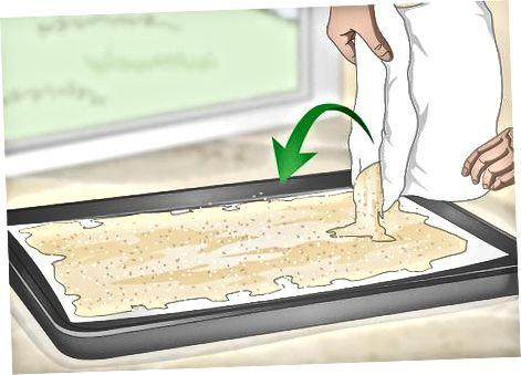 Lavado y horneado de arena