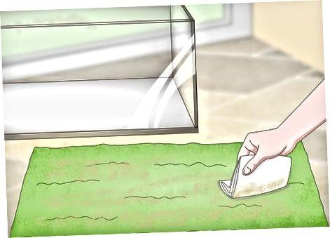 Desinfección de revestimientos de terrario