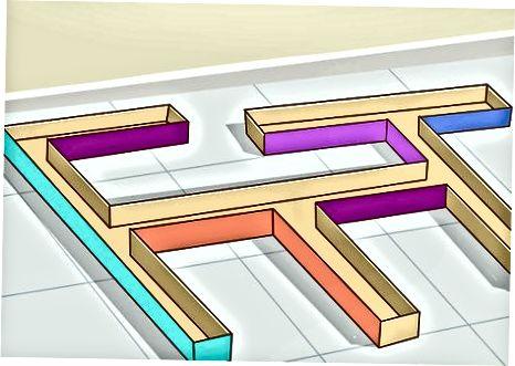 Χρήση άλλων υλικών για την κατασκευή του λαβυρίνθου σας