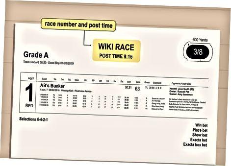 Track və yarış məlumatı tapmaq