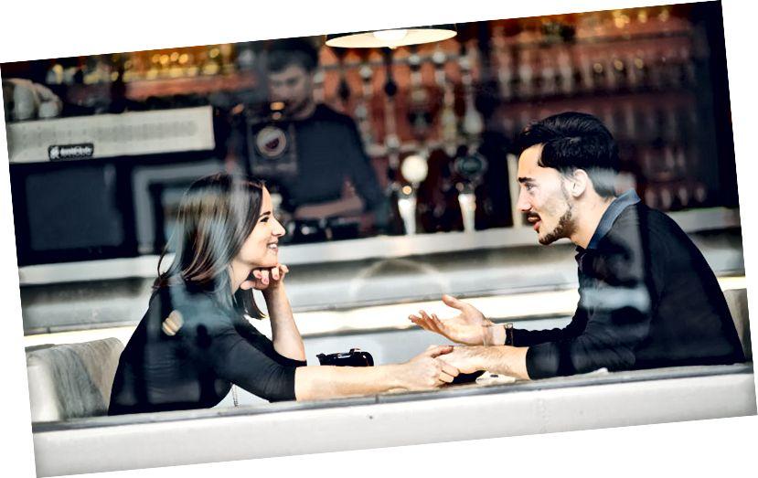Fragen Sie einen Mann nach einem Date