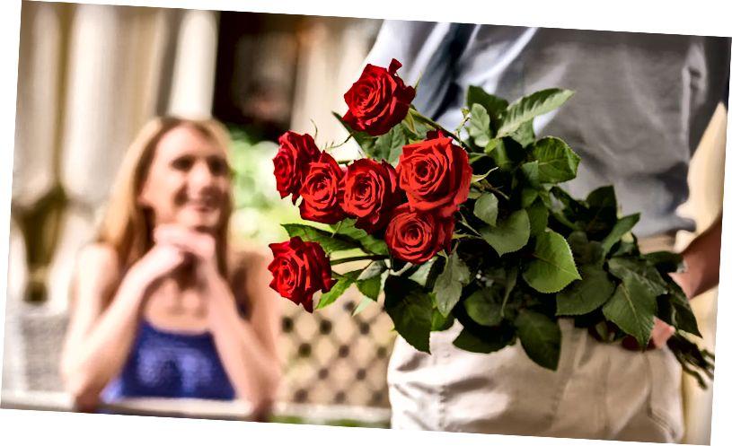 रोमांटिक फूल