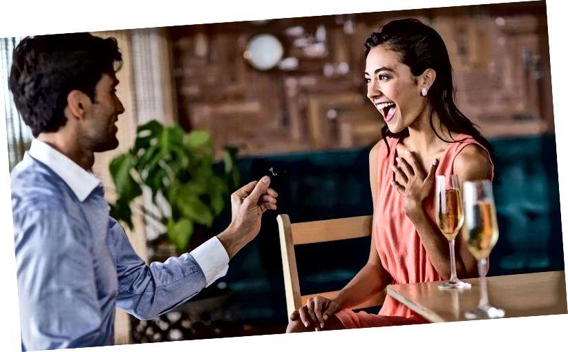 Романтични начини за предлагане