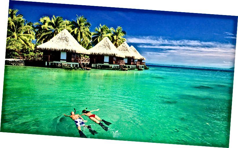 nejromantičtější místa pro dovolenou