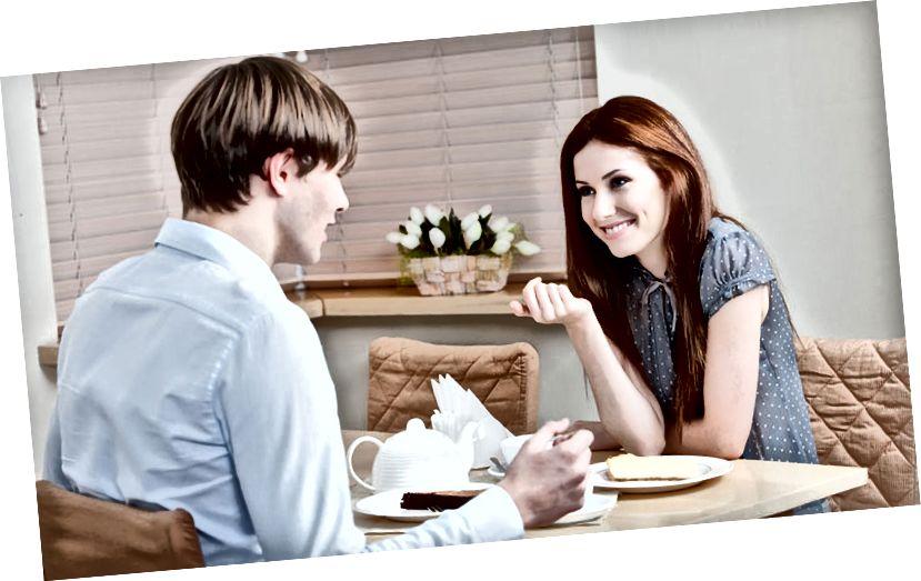 Gespräch beim ersten Date