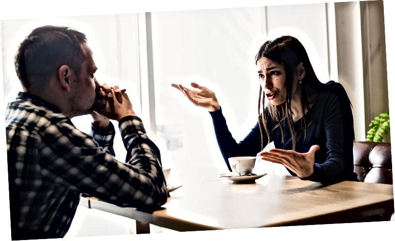 verbal missbräuchliche Beziehung