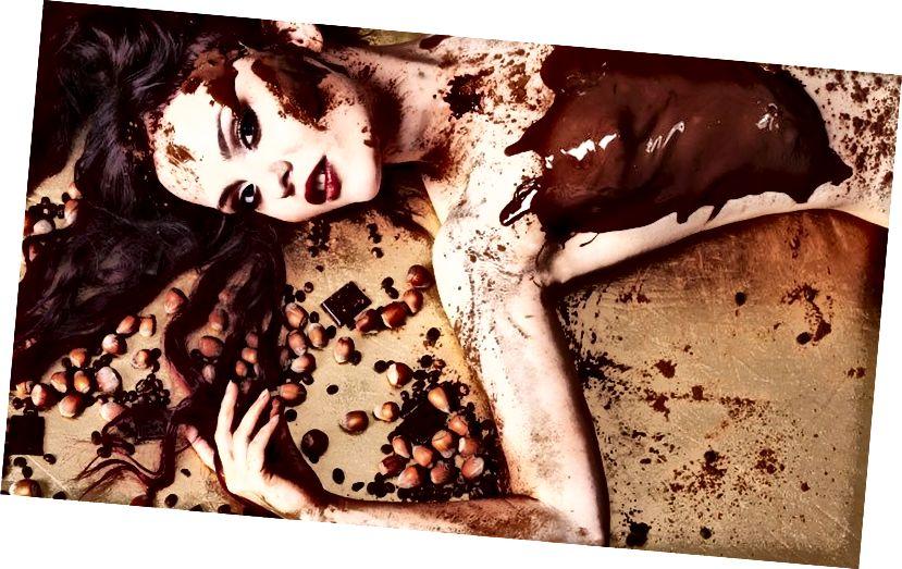 csokoládé szerető