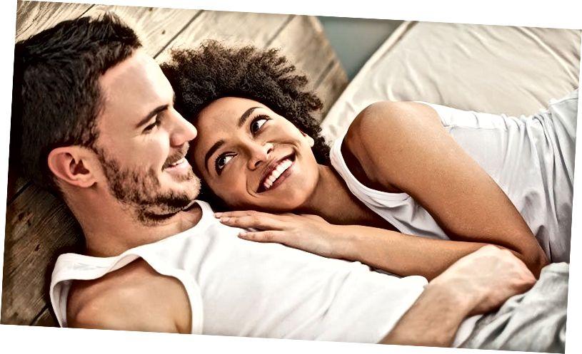 Dinge, über die glückliche Paare sprechen