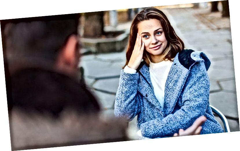 अपनी लड़की से बात करते समय बचने के लिए वाक्यांश