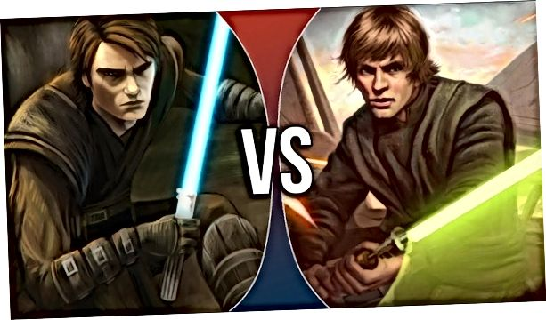 Anakin Vs Luke 2020