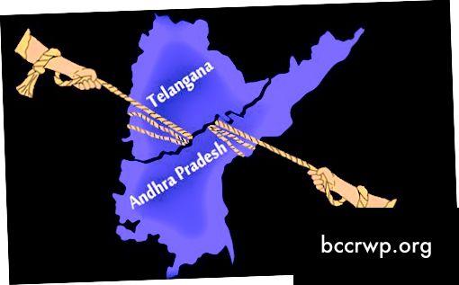 Andhra Pradesh a Telengana