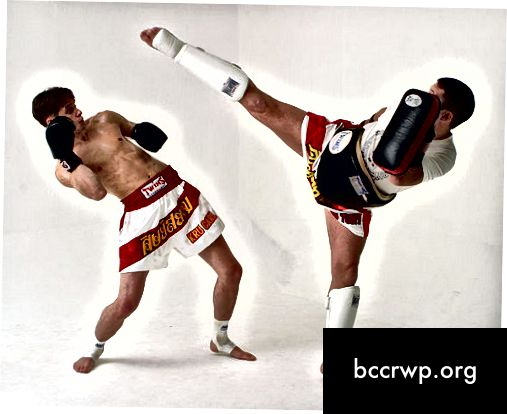 Diferència entre Muay Thai i Tae Kwon Do