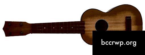 Розніца паміж гітарай і укулеле-1