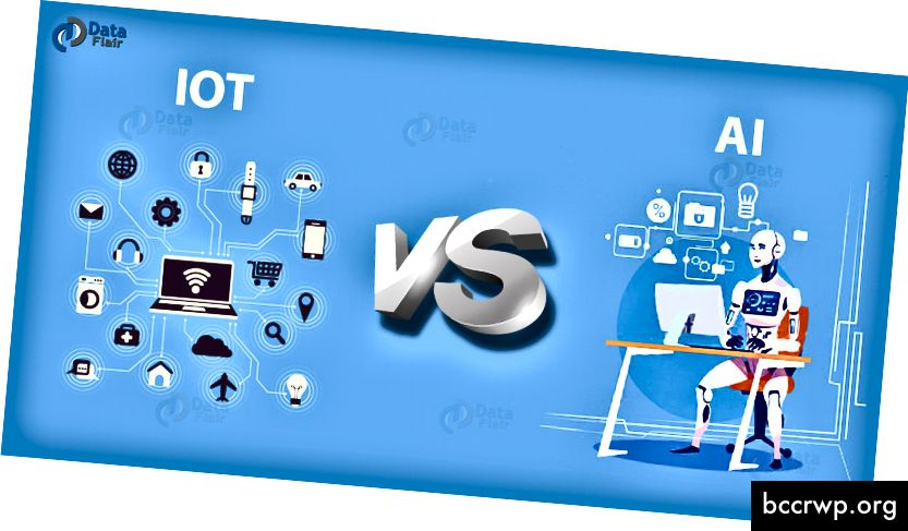 IoT vs AI Rozdíl mezi IoT a AI