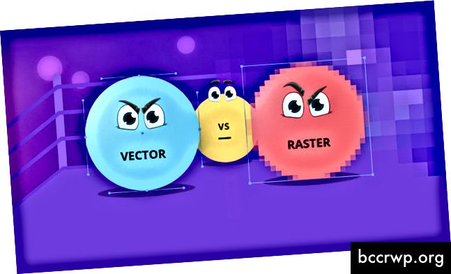 Разлика между Vector & Raster