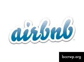 Sætur freyðandi merkimiði Airbnb um 2013