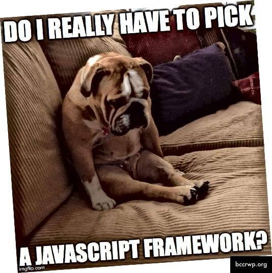 Javascriptid 2017. aastal - tänapäeval pole asjad lihtsad!