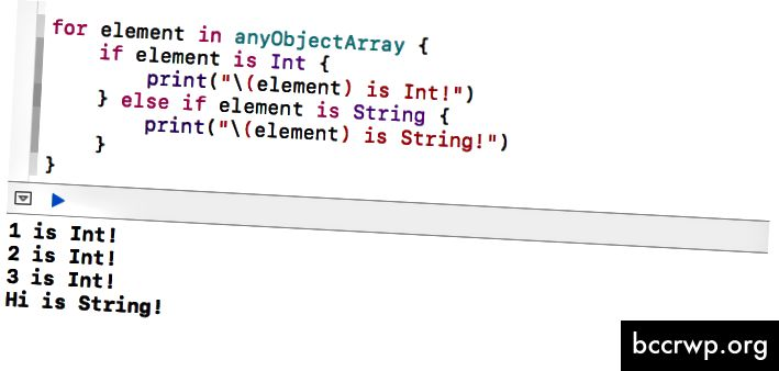 Kontrola typů prvků v anyObjectArray 1