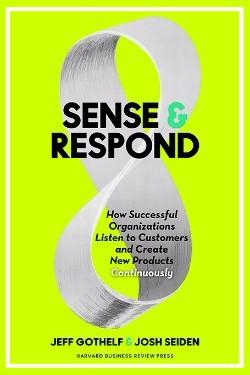 Sense & Respond on väljas Harvard Business Pressis 2017. aasta veebruaris