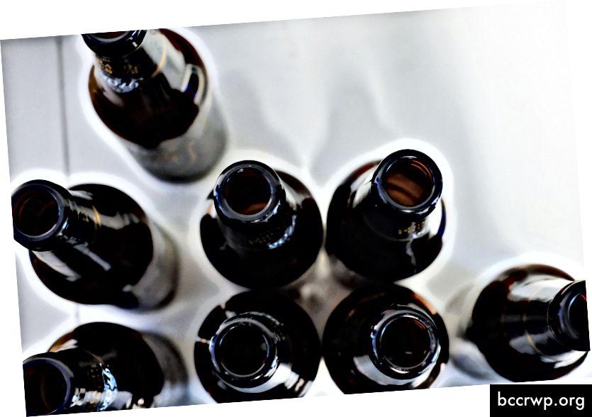 Saate ringlusse võtta nii oma sisu kui ka pudeleid. // Thomas Picauly teemal Unsplash
