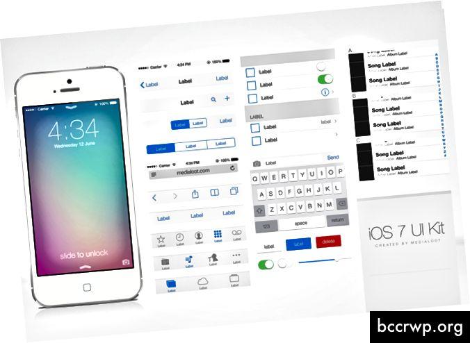 """""""SceneKit"""" leidžia labai lengvai pridėti """"Native iOS 2D"""" UI šablonus į savo programą"""