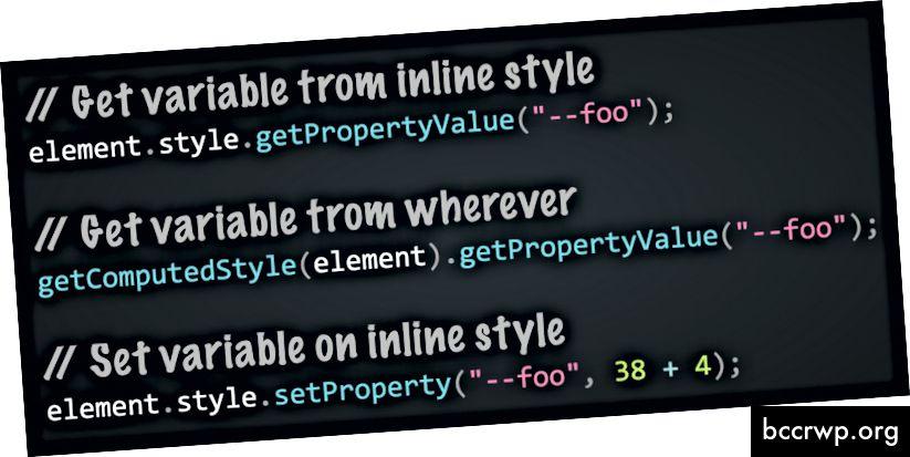 Πώς να διαβάσετε και να γράψετε προσαρμοσμένες ιδιότητες CSS με JavaScript - (απόσπασμα από τη συζήτηση της Lea Verou)