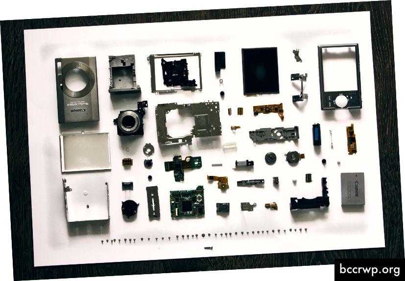 Mikroteenused kaamera sees. Nad on väikesed. Foto autor Vadim Šerbakov saidil Unsplash