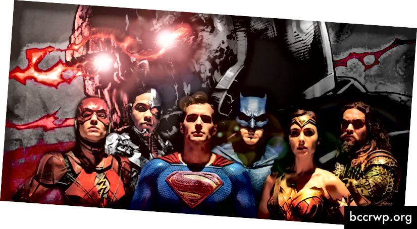 """Justice League 2"" filmo plakatas. Kreditai: Screenrant.com"