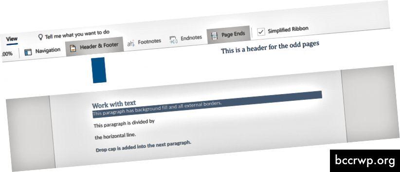 """Word Online"" antraštė"