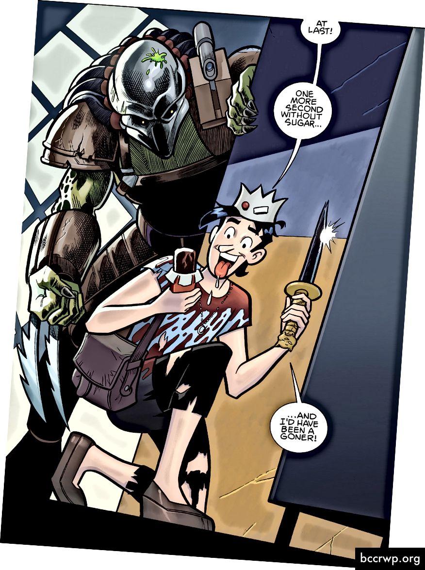 Кредит: Dark Horse Comics / Archie Comics