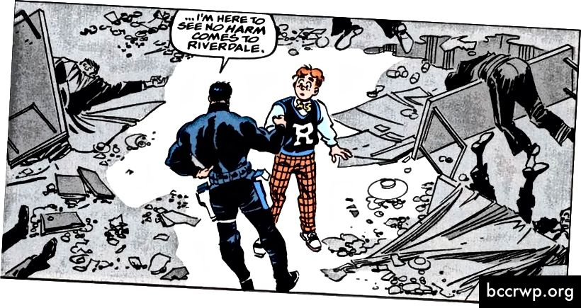 Кредит: Marvel Comics / Archie Comics
