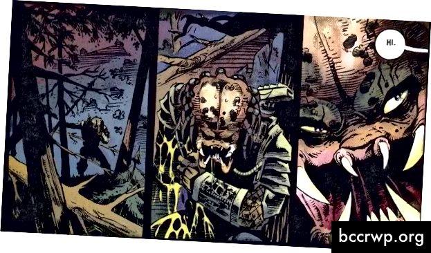 Кредит: DC Comics / Dark Horse Comics