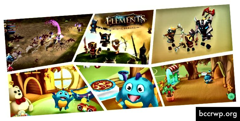 Игри, изградени с Unity