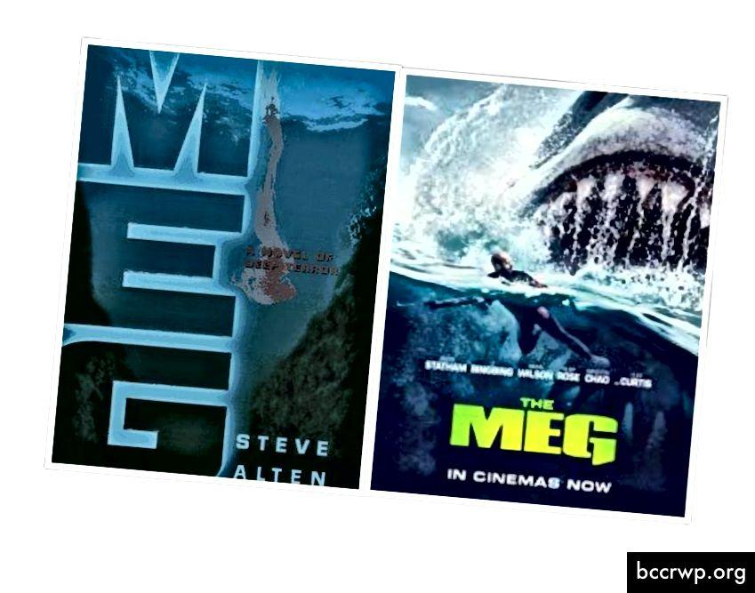 Meg-kansi ja elokuvajuliste (Doubleday Books ja Warner Bros. Pictures)