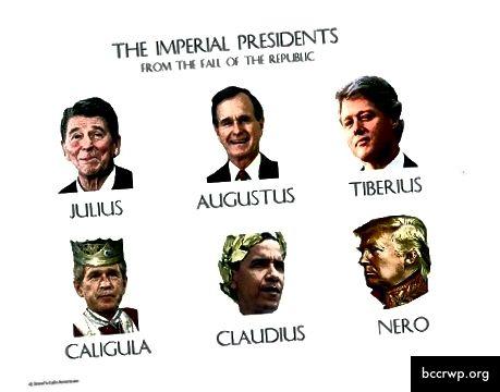 Senovės istorija ir šiuolaikinė susimaišė į tobulą nepartinį memą. Vaizdo kreditas svetainėje http://jessescrossroadscafe.blogspot.com/.