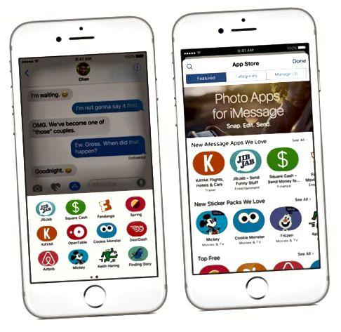 Erinevus iOS 9 ja iOS 10 vahel