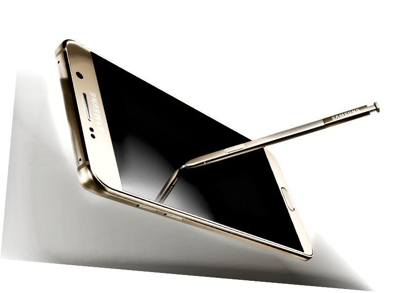 الفرق بين Galaxy Note 5 و Galaxy S6 Edge