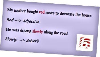 Разлика между прилагателни и наречия