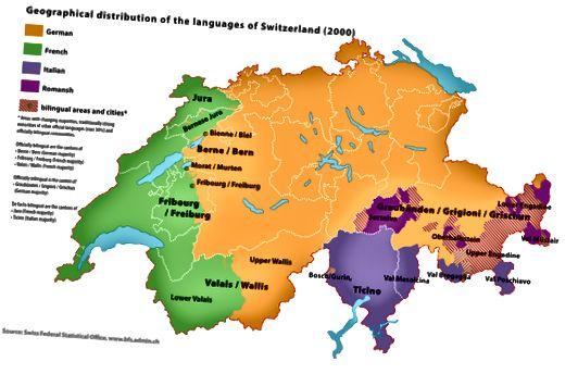Διαφορά μεταξύ της ελβετικής γερμανικής και της γερμανικής γλώσσας