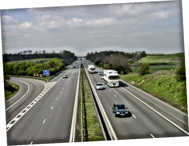 Diferència entre autopista i autopista