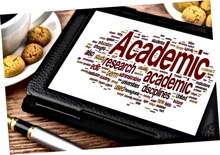 Ключова разлика между академичното писане и неакадемичното писане