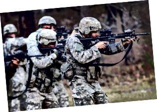 Разлика между армия и национална гвардия
