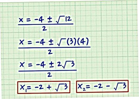 Kvadratlar formulasi
