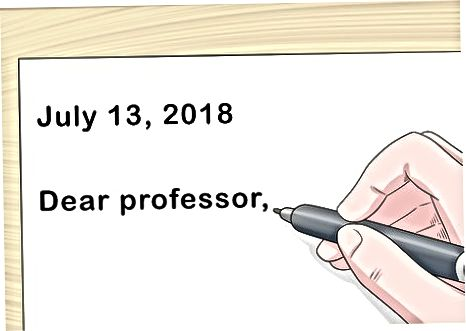 Yozuvchi orqali professorga murojaat qilish