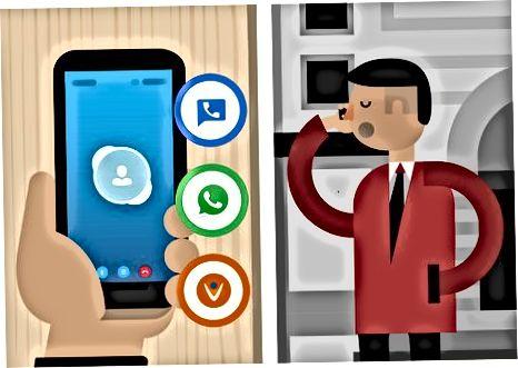 Isinasaalang-alang ang mga Alternatibo sa mga Calling Card
