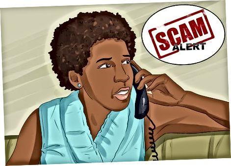 Saber como lidar com golpistas no telefone