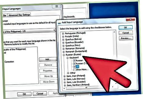 """Suaktyvinkite kirilicos palaikymą """"Windows 7"""" ir """"Vista"""""""