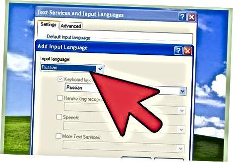 """""""Windows XP"""" suaktyvinkite kirilicos palaikymą"""