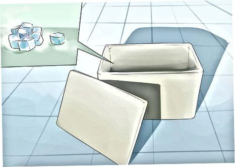 Saugus sauso ledo tvarkymas